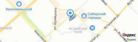 Stefa Nika на карте Красноярска