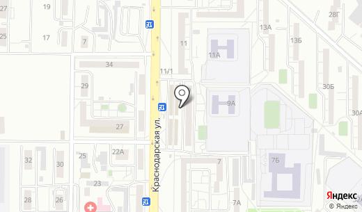 Золушка. Схема проезда в Красноярске