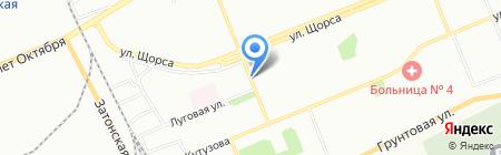 Банкомат ИКБ Совкомбанк ПАО на карте Красноярска