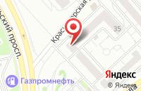 Схема проезда до компании Сёгун в Красноярске