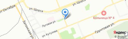 Альянс+ на карте Красноярска