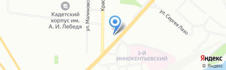 Пион-фарма на карте Красноярска