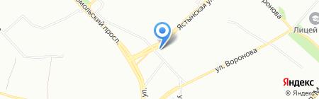 ИнтерьерЪ на карте Красноярска