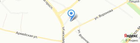 МАРИС на карте Красноярска