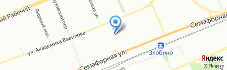Отдел жилищных субсидий Управления социальной защиты населения Администрации Кировского района на карте Красноярска