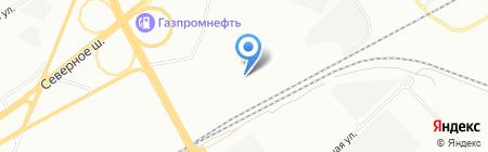 Дверной Арсенал на карте Красноярска
