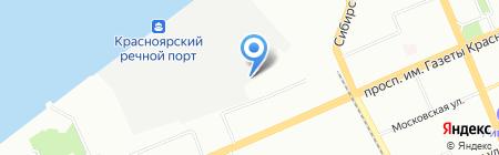 Сибконтейнер на карте Красноярска