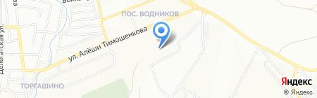 Средняя общеобразовательная школа №78 на карте Красноярска