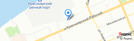 Детский сад №150 на карте Красноярска
