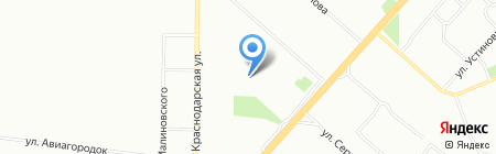 Средняя общеобразовательная школа №1 им. В.И. Сурикова на карте Красноярска