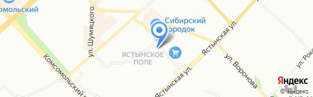 А 5 на карте Красноярска