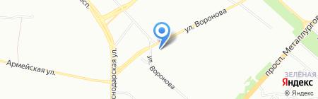 Эквилибрис на карте Красноярска