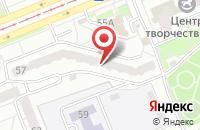 Схема проезда до компании Кредо-Ртс в Красноярске