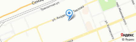 Детский сад №260 на карте Красноярска