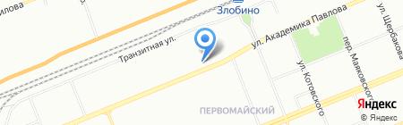Уют на карте Красноярска