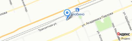 Багажник на карте Красноярска