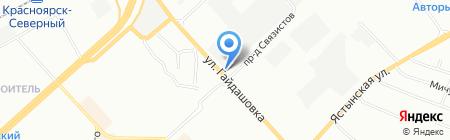Распилоfff на карте Красноярска