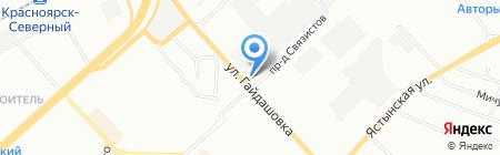 СОЮЗ на карте Красноярска