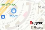 Схема проезда до компании Лацио в Красноярске