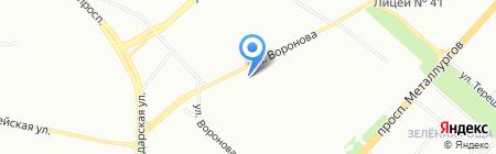 Факультет красоты на карте Красноярска