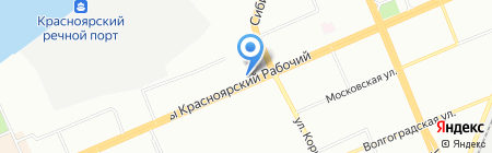 ИсагЭви на карте Красноярска