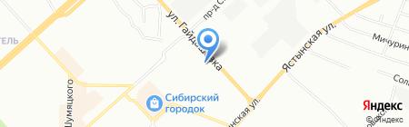 КатайГрупп на карте Красноярска
