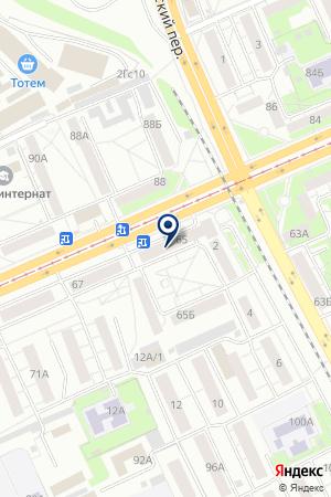 МАГАЗИН ИНСТРУМЕНТ на карте Красноярска