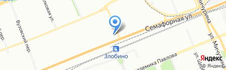 ВИТ на карте Красноярска