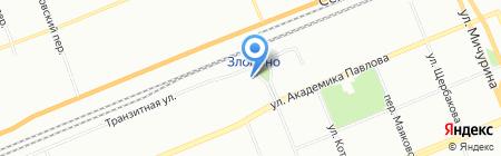 ВМТ на карте Красноярска