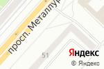 Схема проезда до компании Oriflame в Красноярске