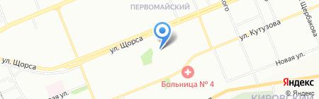 Детский сад №254 на карте Красноярска