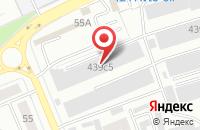 Схема проезда до компании Акцент в Красноярске