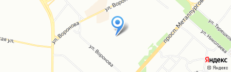 Атс-Мастер на карте Красноярска