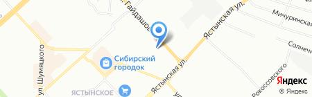 Металл Комплект на карте Красноярска
