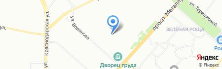 Средняя общеобразовательная школа №7 на карте Красноярска