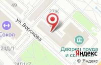 Схема проезда до компании Рос-А в Красноярске