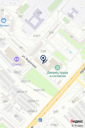 АГЕНТСТВО НЕДВИЖИМОСТИ АЛЬТЕРНАТИВА на карте Красноярска