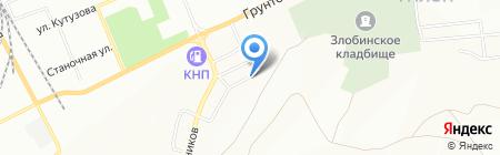 Unit-auto на карте Красноярска