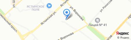Маклер на карте Красноярска