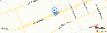 Тортинка на карте Красноярска