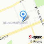 Окито на карте Красноярска