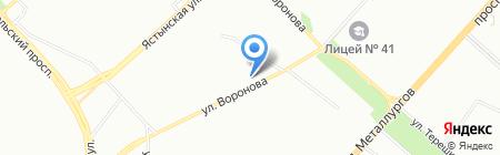 Гармония здоровья на карте Красноярска