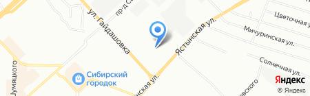 SKIF на карте Красноярска