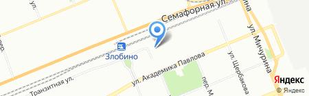 Детский сад №169 на карте Красноярска