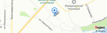 ГОЛДИНГ на карте Красноярска
