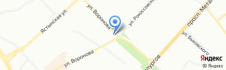 Витамед на карте Красноярска