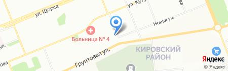 Новые технологии на карте Красноярска
