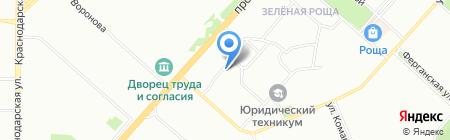 Детский сад №217 на карте Красноярска