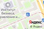 Схема проезда до компании Х3 в Красноярске