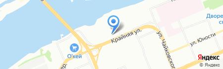 ЭкспертИнвест24 на карте Красноярска